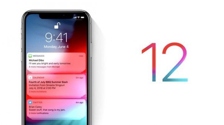 iOS 12 este cel mai popular sistem de operare mobil de la Apple de până acum
