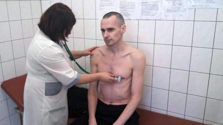 145 de zile de greva foamei: Vezi cum arată regizorul ucrainean, Oleg Sențov, deţinut lângă Cercul Polar