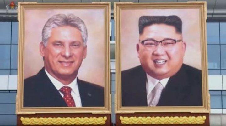 Coreea de Nord a dezvăluit primul portret oficial al liderului de la Phenian, Kim Jong-un