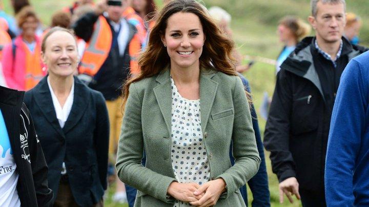 Să fie oare adevărat? Ducesa Kate Middleton, însărcinată cu al patrulea bebeluș