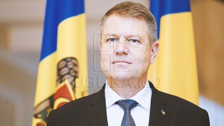 REACŢIA preşedintelui României, Klaus Iohannis, după căderea Guvernului de la Chişinău