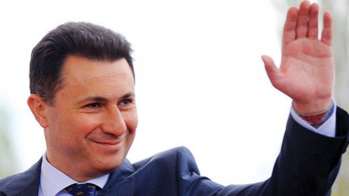 Nikola Gruevski, fostul premier al Macedoniei, cere azil în Ungaria