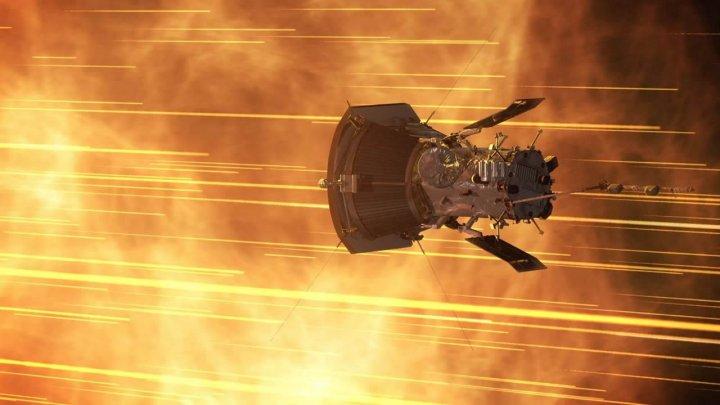 Sonda Parker a realizat prima trecere prin apropierea relativă a Soarelui
