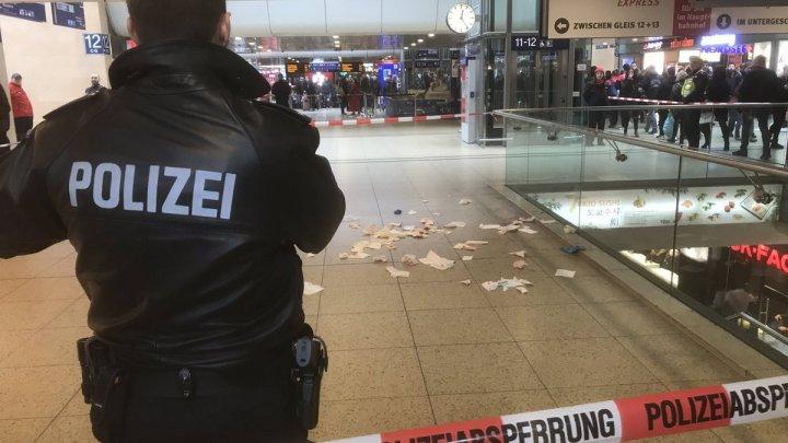 ALERTĂ de securitate în Germania după ce un român a comis un ATAC CU ARMĂ ALBĂ