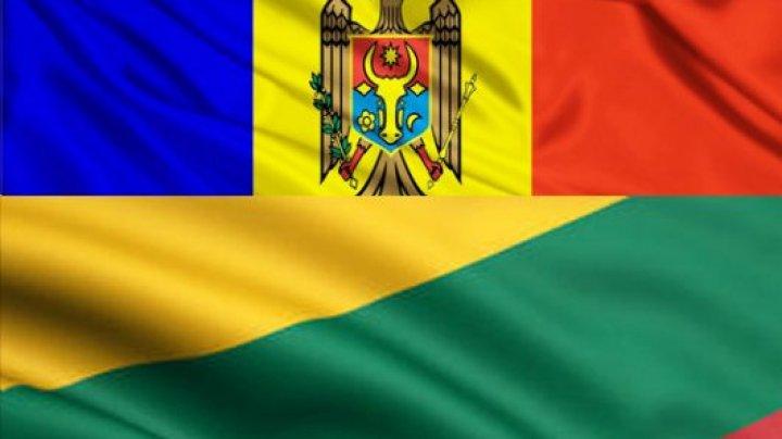 Ministrul de externe al Lituaniei, în vizită la Chişinău