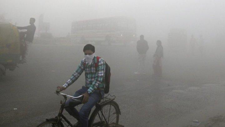 Oraşul cu CEA MAI PROASTĂ ECOLOGIE din Lume: Poluarea aerului în New Delhi depăşeşte de 25 de ori limita maximă admisibilă