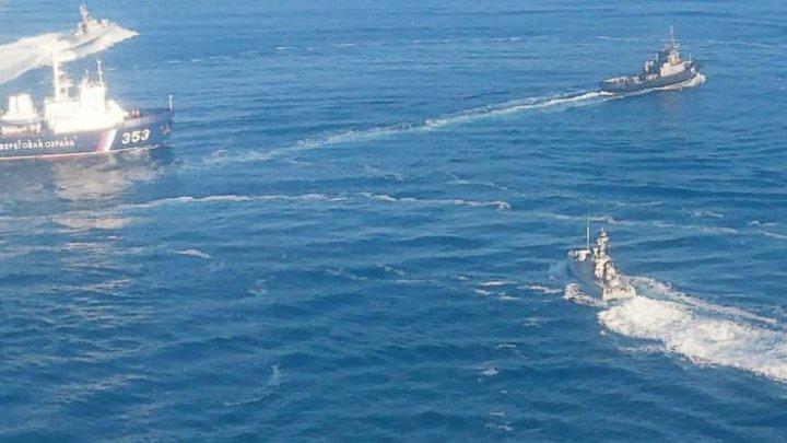 Unul dintre ucrainenii răniți la bordul navelor era AGENT al serviciului ucrainean de informaţii