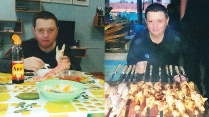 Trai de lux cu caviar şi şampanie în celula unui mafiot rus din clanul Țapok