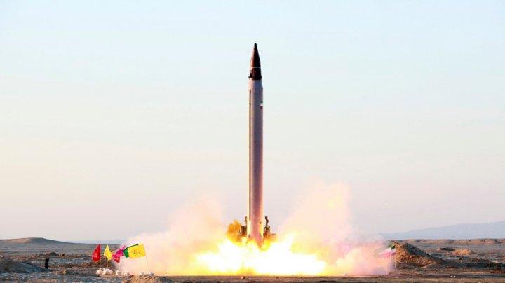 """Iranul confirmă că a efectuat """"recent"""" un test de rachetă"""