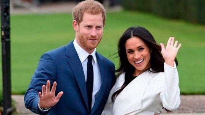 Meghan Markle și prințul Harry au ales nașii copilului lor