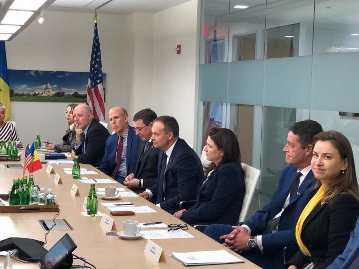 Andrian Candu a participat la lansarea Consiliului de afaceri Republica Moldova – SUA (FOTO)