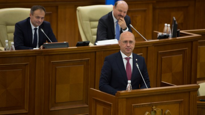 Pavel Filip, la raport în Parlament: O să explic întregii ţări logica după care ne-am condus în toată această perioadă