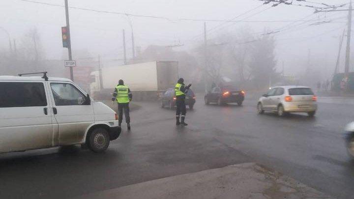 Ceața a pus stăpânire pe Moldova. Cum se circulă pe drumurile din țară