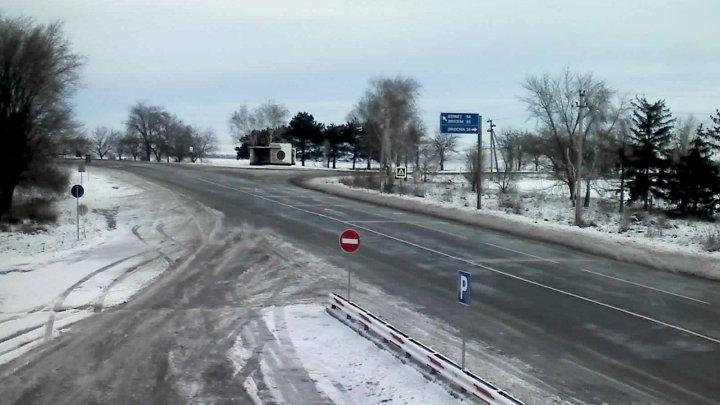Chiril Gaburici: Drumurile ce prezintă riscuri pentru circulația pe timp de iarnă sunt monitorizate (FOTO)