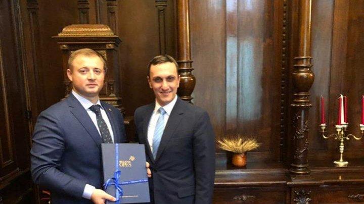 Gheorghe Cavcaliuc, despre vizita în România: Vrem să încheiem şi în Moldova un acord de parteneriat cu instituţiile media (FOTO)