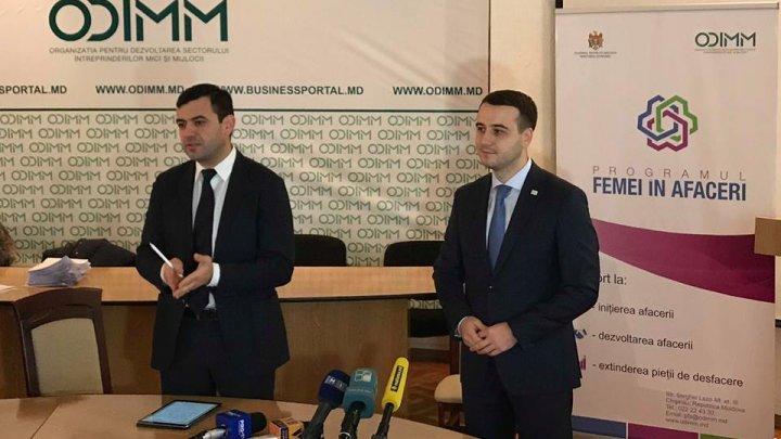Chiril Gaburici: Susțin femeile care au deschis sau planifică să deschidă afaceri aici, acasă