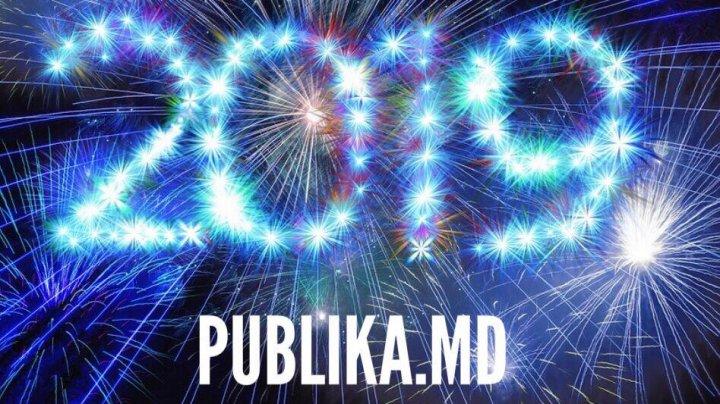 LA MULŢI ANI, MOLDOVA! Echipa PUBLIKA.MD vă urează un An Nou Fericit, bucurii și multă sănătate