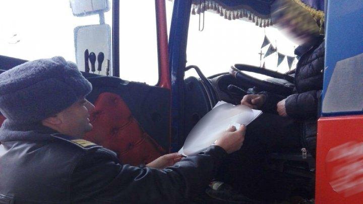 Un moldovean, şofer de TIR, s-a ales cu DOSAR PENAL după ce a trecut vama în România