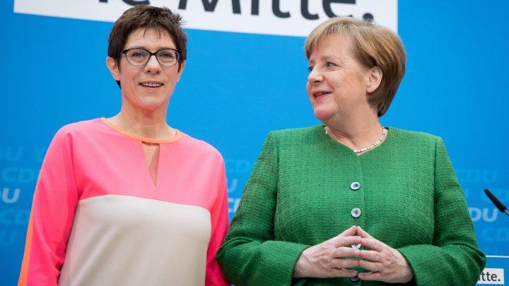 Annegret Kramp-Karrenbauer a fost aleasă succesoarea Angelei Merkel la conducerea Uniunii Creştin-Democrate germane
