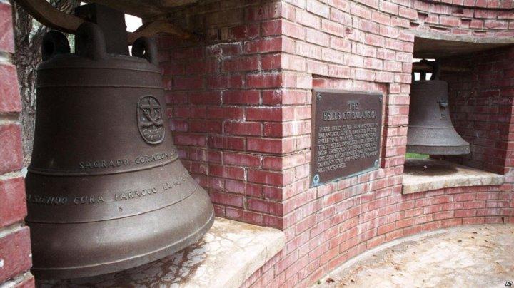 SUA restituie statului Filipine trei clopote luate ca pradă de război, după aproape 120 de ani