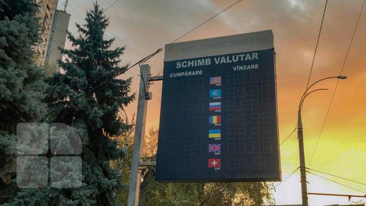 Curs valutar 29 septembrie:  Leul moldovenesc se depreciază în raport cu moneda unică europeană