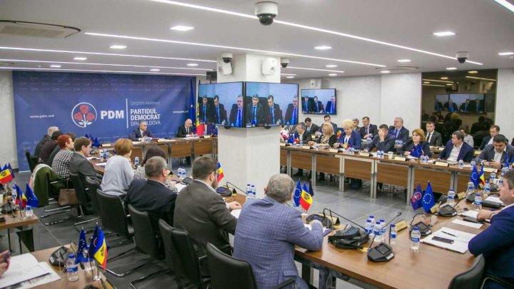 PDM îl susține pe Ion Chicu pentru funcția de ministru al Finanțelor