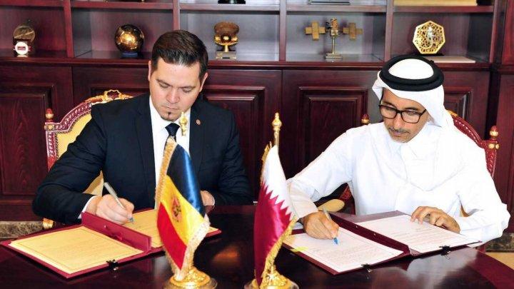 Moldova şi Qatarul vor coopera în domeniu sportului şi culturii. Tudor Ulianovschi s-a întâlnit cu Ministrul Salah bin Ghanem Al Ali