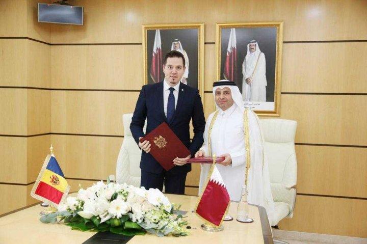 Republica Moldova și Qatar au semnat un acord de colaborare în domeniul educației (FOTO)