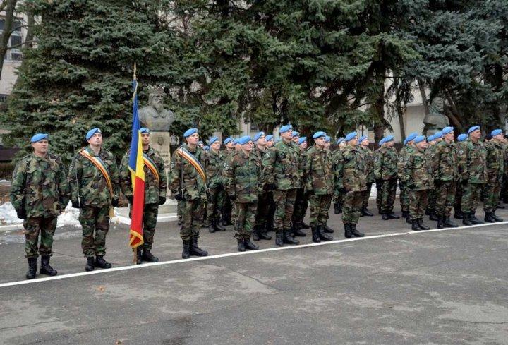 Un nou contingent al Armatei Naţionale pleacă în Kosovo (FOTO)