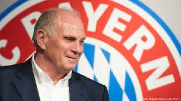 Uli Hoeness a fost reales preşedinte al Consiliului de Supraveghere al clubului Bayern Munchen