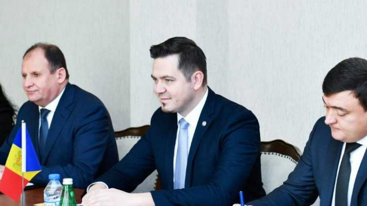 Tudor Ulianovschi la întâlnirea cu Inam Kerimov, co-preşedinte al Comisiei interguvernamentale pentru Moldova şi Azerbaidjan: Este necesar să dezvoltăm colaborarea comercială dintre cele două state