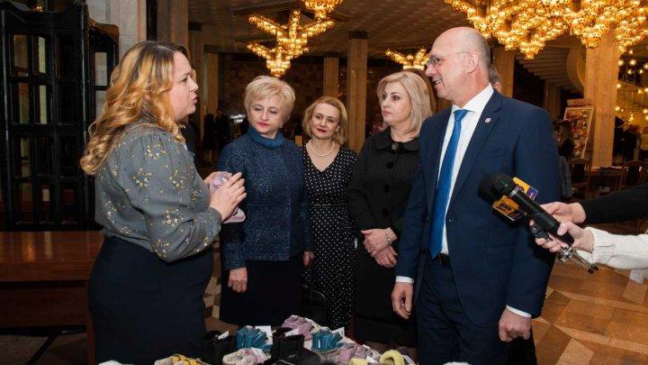 Pavel Filip la Forumul Național al Femeilor: În Republica Moldova va fi tot mai ușor să faci afaceri, dacă ne vom implica împreună