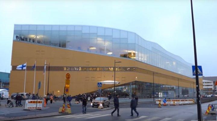 Finlanda a marcat 100 de ani de independență prin deschiderea unei biblioteci publice moderne (VIDEO)