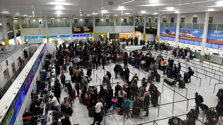 Aeroportul Gatwick din Londra, închis, după câteva ore de funcționare