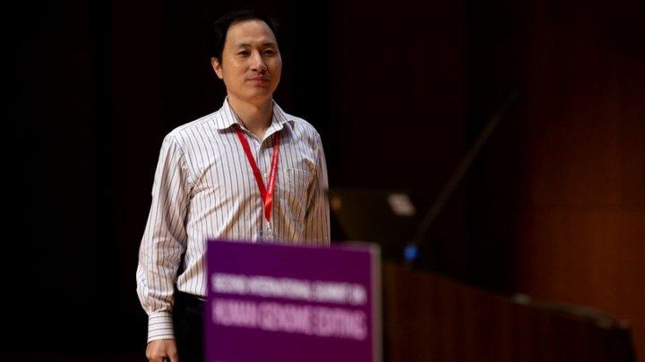 FRANKENSTEIN DE CHINA, ARESTAT. Doctorul, care susţine că a modificat genetic mai mulţi copii, va fi anchetat