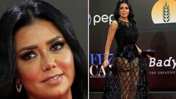 O actriţă riscă 5 ani de închisoare, pentru că a purtat o rochie transparentă, în Cairo