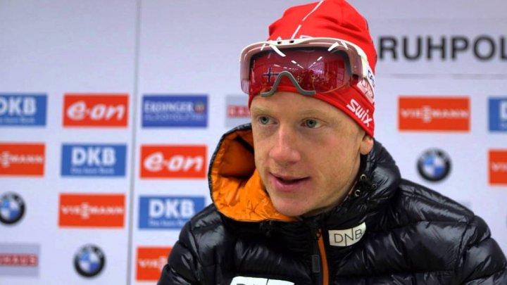 Norvegianul Johannes Boe a câştigat sprintul de 10 km de la Pokljuka