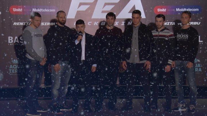 Luptătorii de K-1 şi MMA au felicitat toţi moldovenii cu ocazia sărbătorilor de iarnă