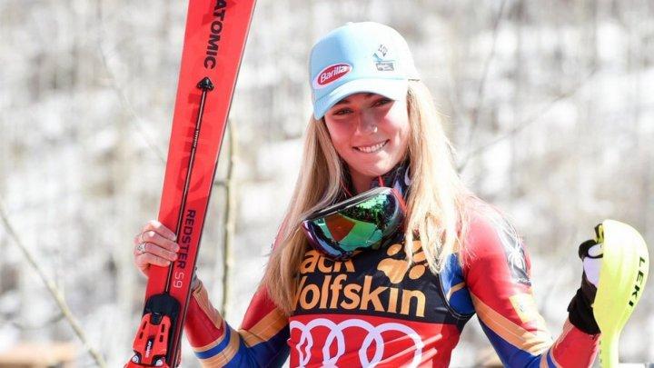 Cupa Mondială de schi alpin. Americanca Mikaela Shiffrin a intrat în istorie