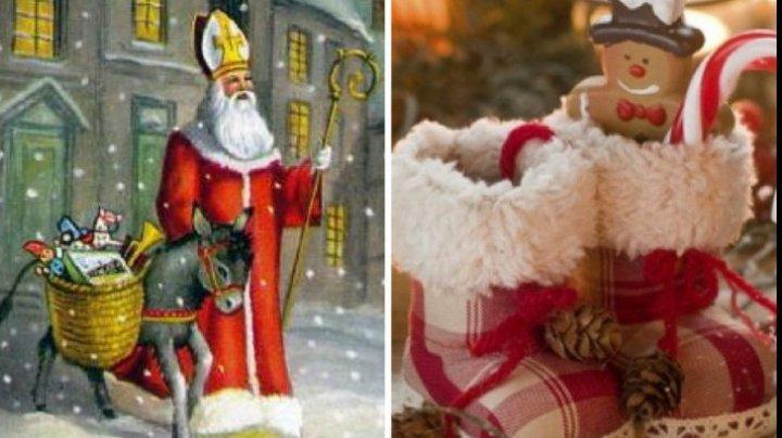 Tradiții și obiceiuri de Moș Nicolae: Când se pun cadourile în ghetuțe