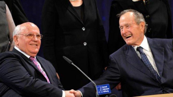 Mesajul lui Mihail Gorbaciov la moarte lui George H.W. Bush