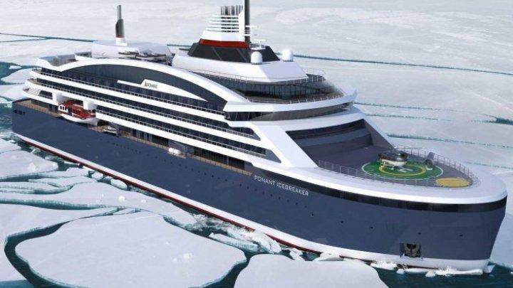 Cum arată prima navă de croazieră polară produsă în România (FOTO)
