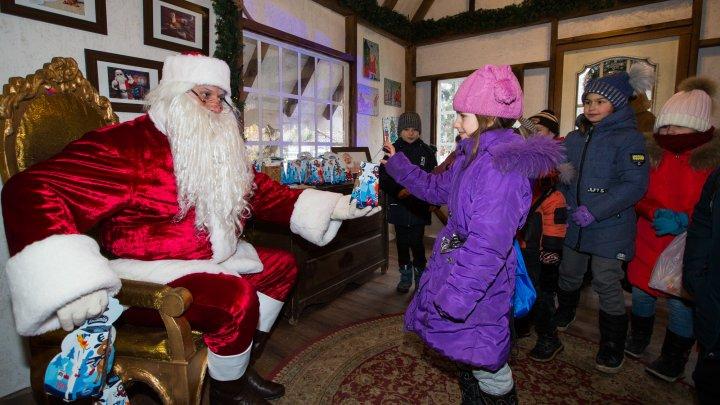 Târgul de Crăciun și-a deschis porțile pentru aproape 1.000 de copii, inclusiv din regiunea transnistreană (FOTO)