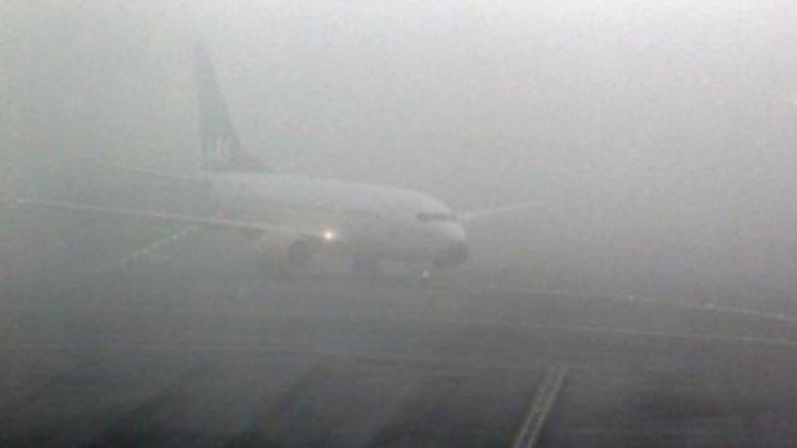 Ce se întâmplă acum la Aeroportul Chişinău. Vremea modifică dramatic programul zborurilor