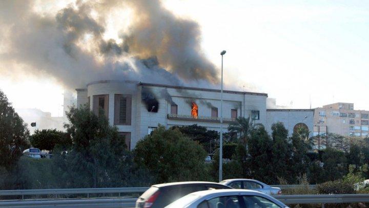 ATAC ARMAT în clădirea Ministerului Afacerilor Externe din Tripoli