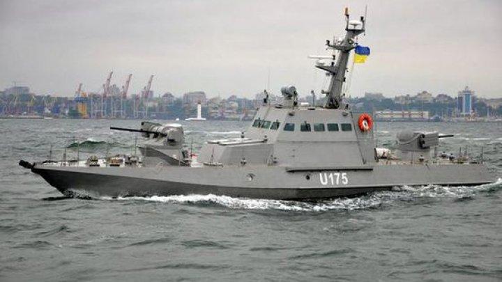Ucraina va trimite nave militare prin Strâmtoarea Kerci, cu reprezentanţi ai NATO şi OSCE la bord