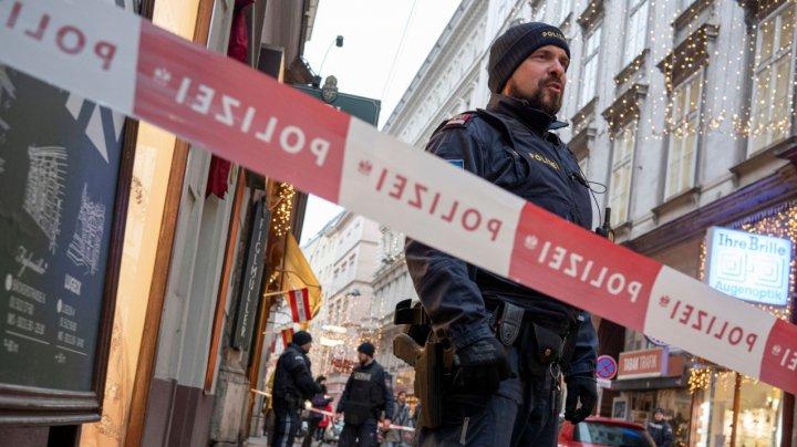 Atacul armat din restaurantul din centrul Vienei are legături cu o mafie din Balcani