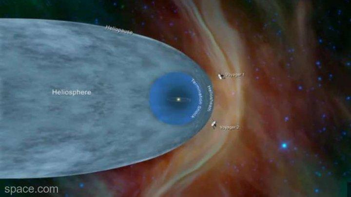 NASA: Sonda Voyager 2 a părăsit Sistemul Solar