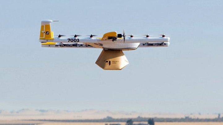 Google va lansa un serviciu de livrare cu drona în 2019 în Finlanda