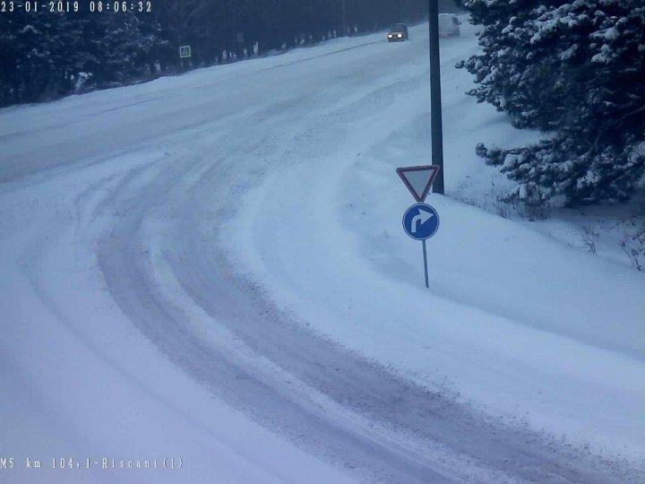 ATENȚIE ȘOFERI! Cum se circulă la această oră pe drumurile naționale din țară (GALERIE FOTO)